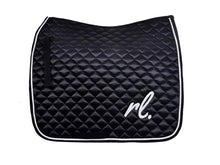 Load image into Gallery viewer, Run the night - Satin dressage pad