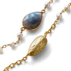 Almond Joy Necklace - Joan Hornig Jewelry