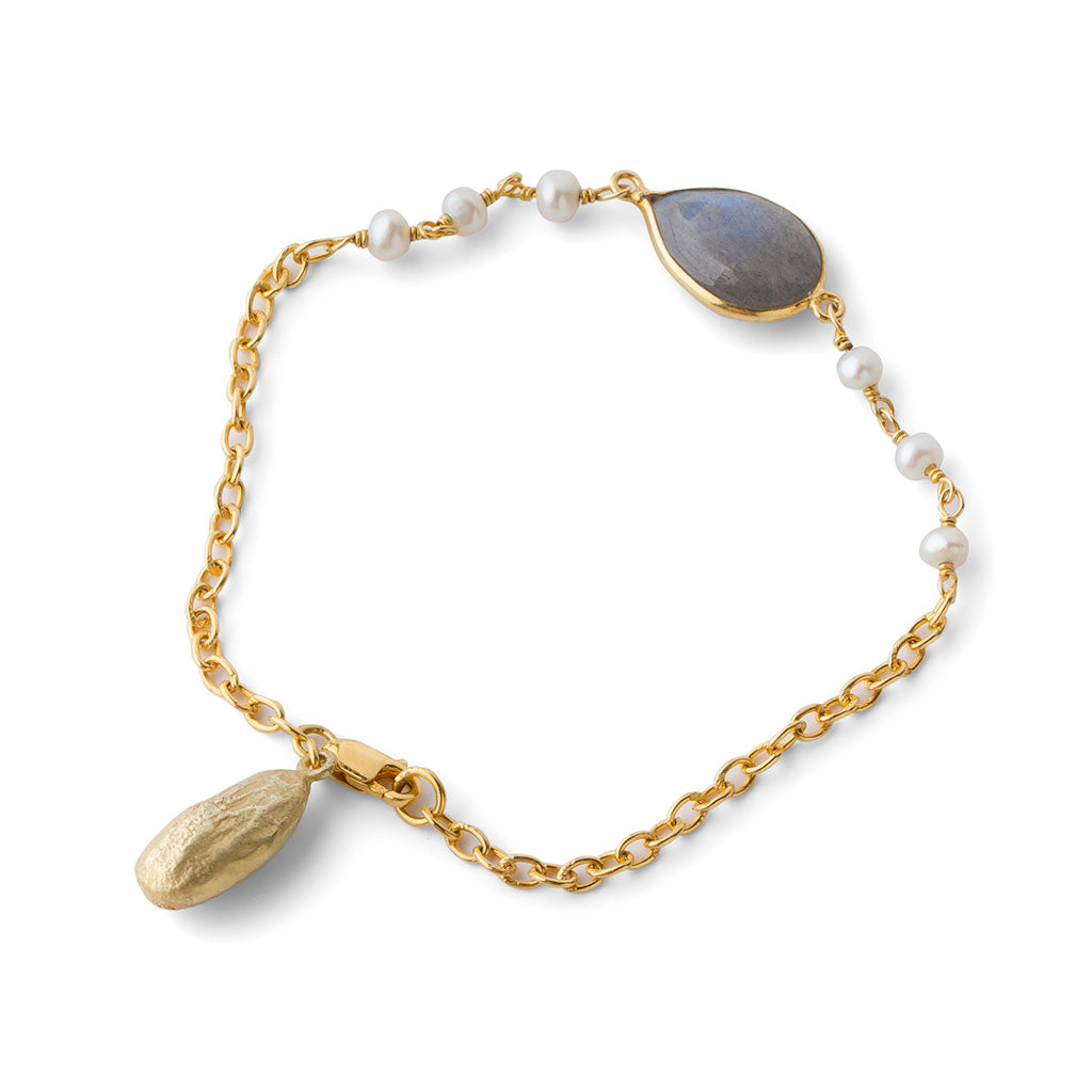 Almond Joy Bracelet - Joan Hornig Jewelry