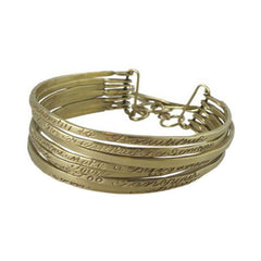 Philanthropy Message Bracelet - Joan Hornig Jewelry