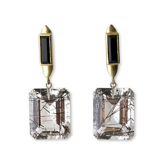 Duke Earrings - Gold - Joan Hornig Jewelry