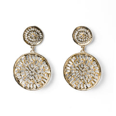 Double Pinwheel Earrings - Joan Hornig Jewelry