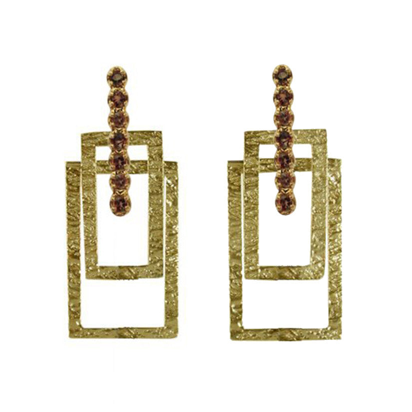 Crosstown West Earrings - Joan Hornig Jewelry