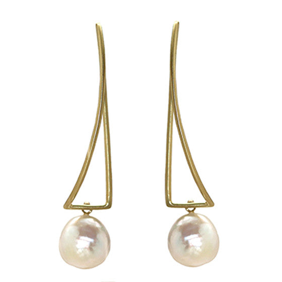 Cheval Pearl Earrings - Joan Hornig Jewelry