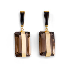 Tuxedo Earrings - Joan Hornig Jewelry