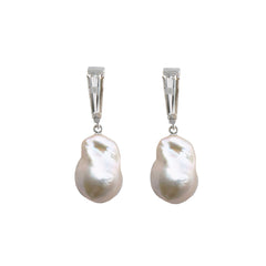 Debbie Pearl Earrings - Joan Hornig Jewelry