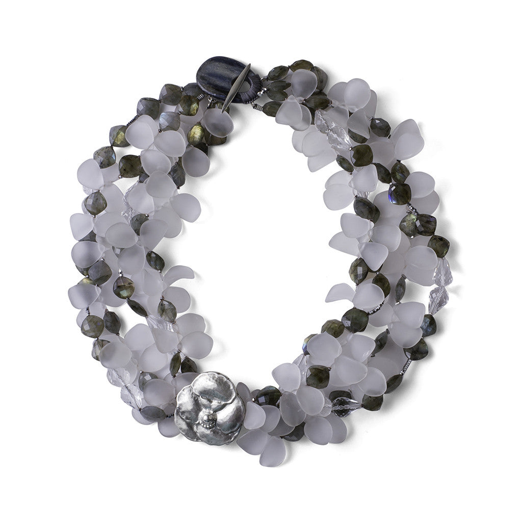 Pansy Necklace - Joan Hornig Jewelry