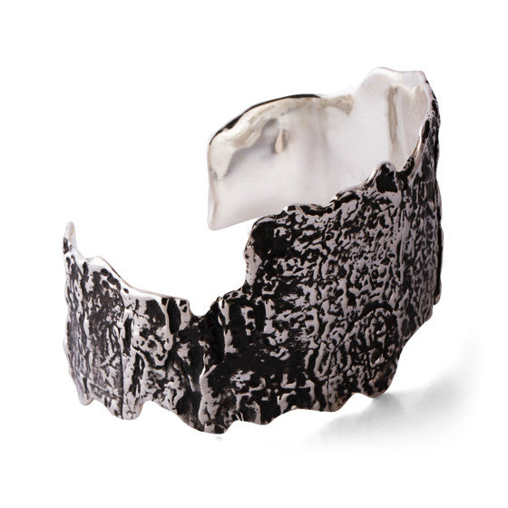 Small Bark Cuff - Joan Hornig Jewelry