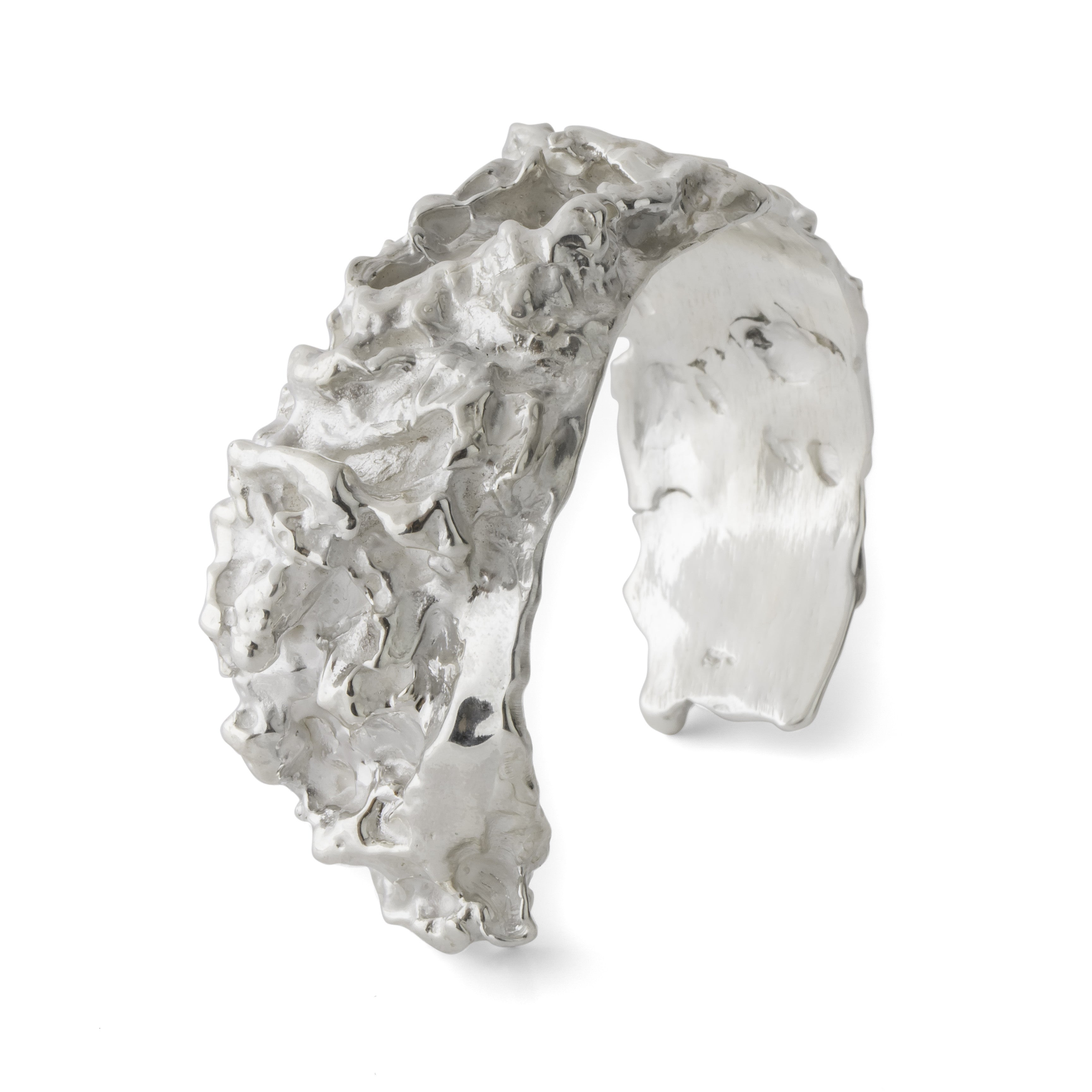 Baby Curly Kale Cuff - Joan Hornig Jewelry