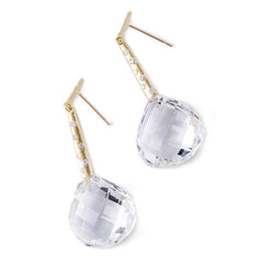 Diamond Georgette Earrings - Joan Hornig Jewelry