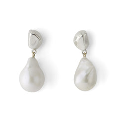 Pom-Pom Pearl Earrings