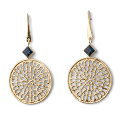 Swinging Pinwheel Earrings - Joan Hornig Jewelry