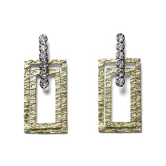 Crosstown East Earrings - Joan Hornig Jewelry