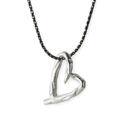 Asparagus Heart Necklace