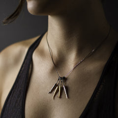 Root A-Peel Necklace - Joan Hornig Jewelry