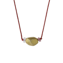 Silky Pom Necklace - Joan Hornig Jewelry