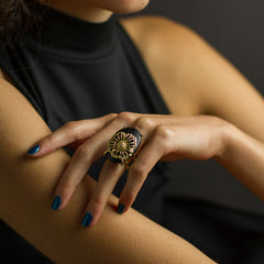 Poppy Ring - Joan Hornig Jewelry