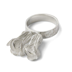 Bok Choy Ring - Joan Hornig Jewelry