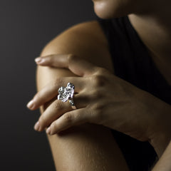 Let Us Give Ring - Joan Hornig Jewelry