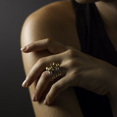Peachy Keen Ring - Joan Hornig Jewelry