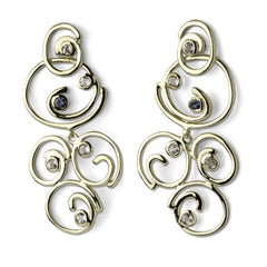 Klimt Earrings - Gold - Joan Hornig Jewelry