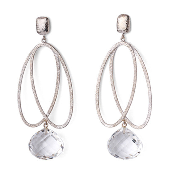 Joshie Earrings - White Gold - Joan Hornig Jewelry