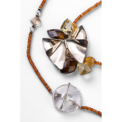 Flutter Butterfly Rock Candy Necklace - Joan Hornig Jewelry