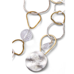 Giving Rocks Necklace & Belt - Joan Hornig Jewelry