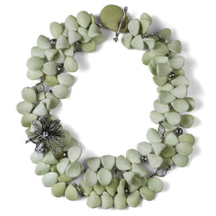 Serpentine Wish Petal Necklace - Joan Hornig Jewelry
