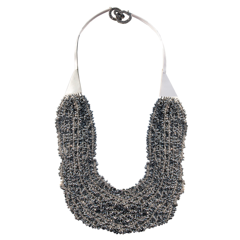 Tuxedo Chain Necklace - Joan Hornig Jewelry