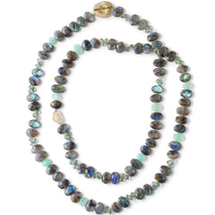 Roomi Thumbprint Necklace - Joan Hornig Jewelry