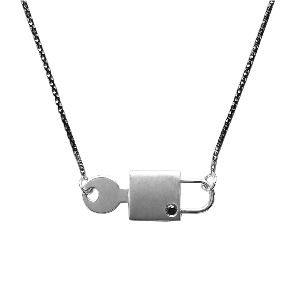 """Yours to Open"" Necklace - Joan Hornig Jewelry"