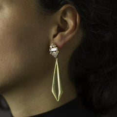 Cassandre Earrings - Gold - Joan Hornig Jewelry