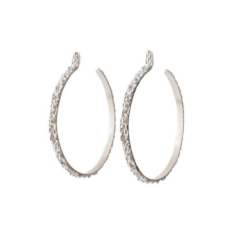 Tahini Hoop Earrings