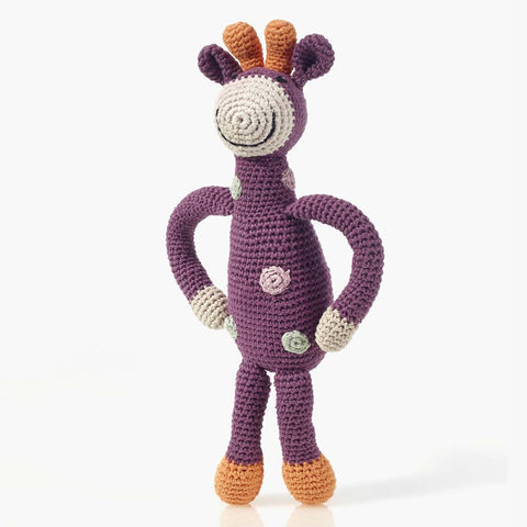 Crochet Rattle-Giraffe