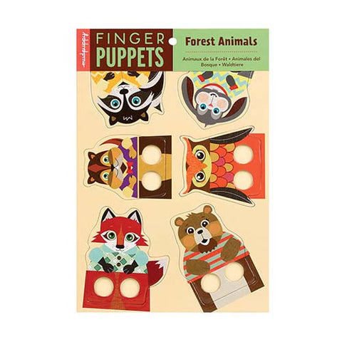 Forest Animals Finger Puppets