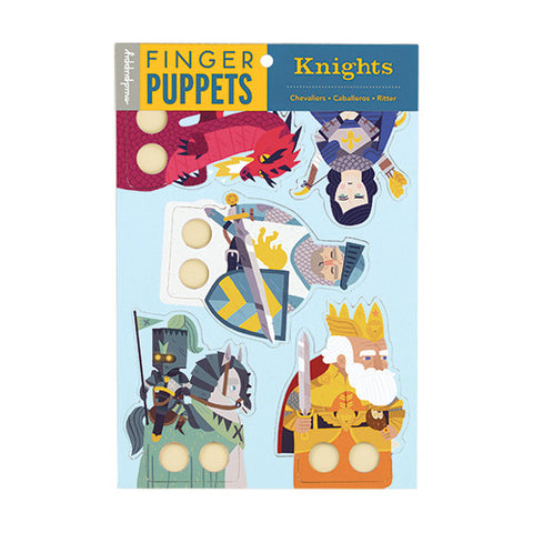 Knights Finger Puppets