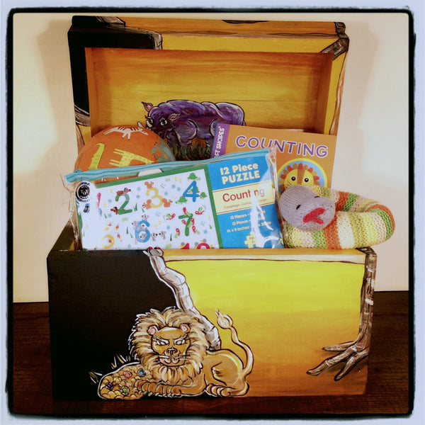 Gift Set-Safari 2 Yr Old