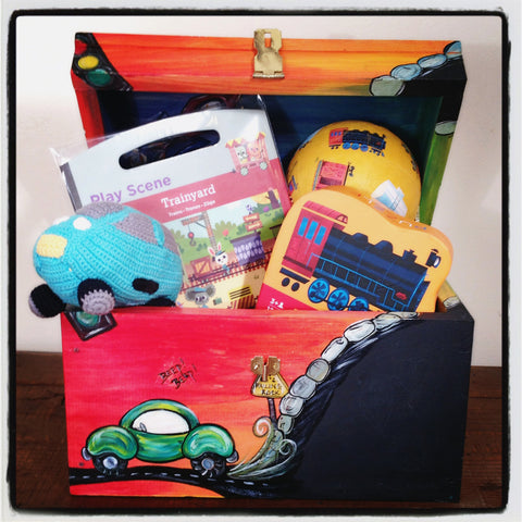Gift Set-Transportation 3 Yr Old