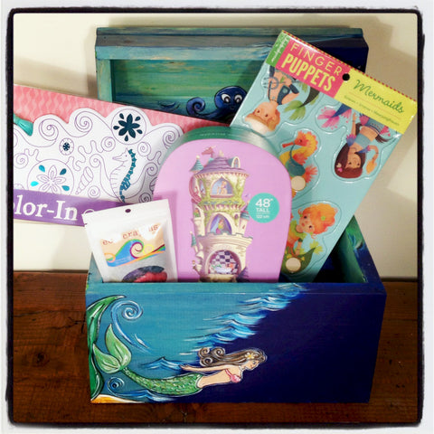 Gift Set-Mermaid 4 & 5 Yr Old