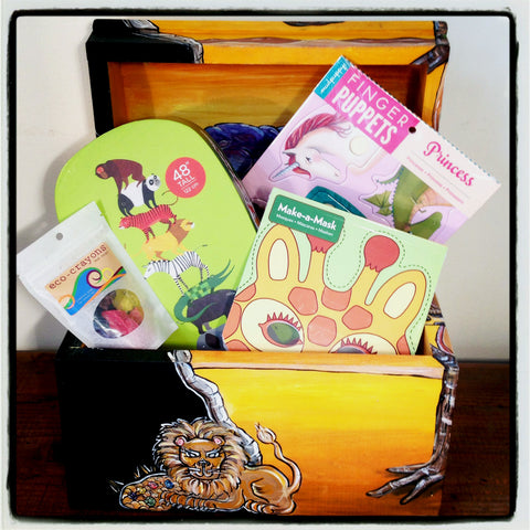 Gift Set-Safari 4/5 Yr Old