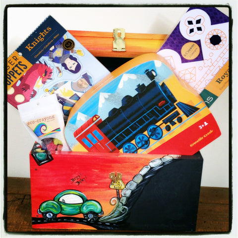 Gift Set-Transportation 4/5 Yr Old