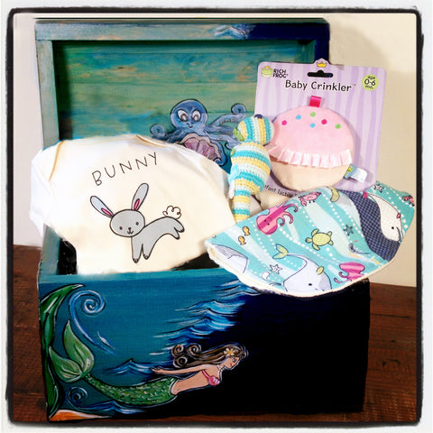 Baby Shower Gift Set-Mermaid