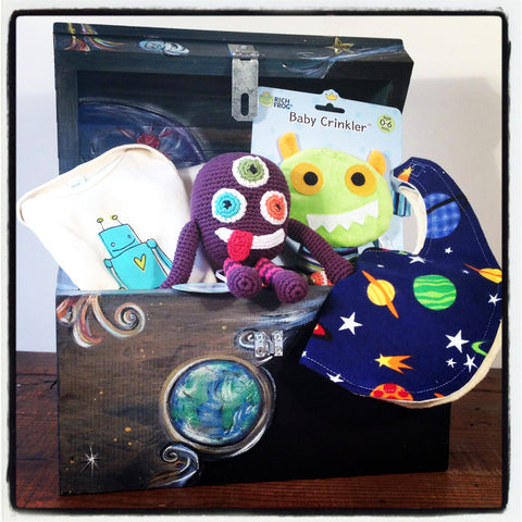 Baby Shower Gift Set-Outerspace