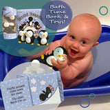Bath Time Book/Toys-Penguins