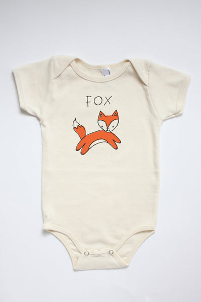 Organic Fox Onesie & Softie Set