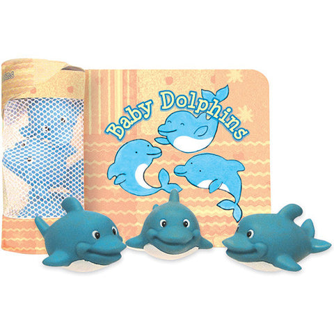 Bath Time Book/Toys-Dolphins
