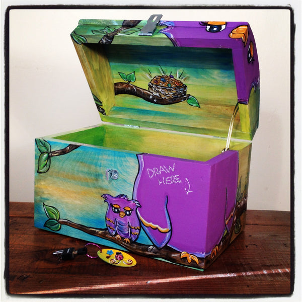 Treasure Chest - Owl