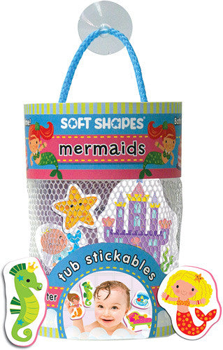 Bath Time Soft Shapes-Mermaids or Pirates