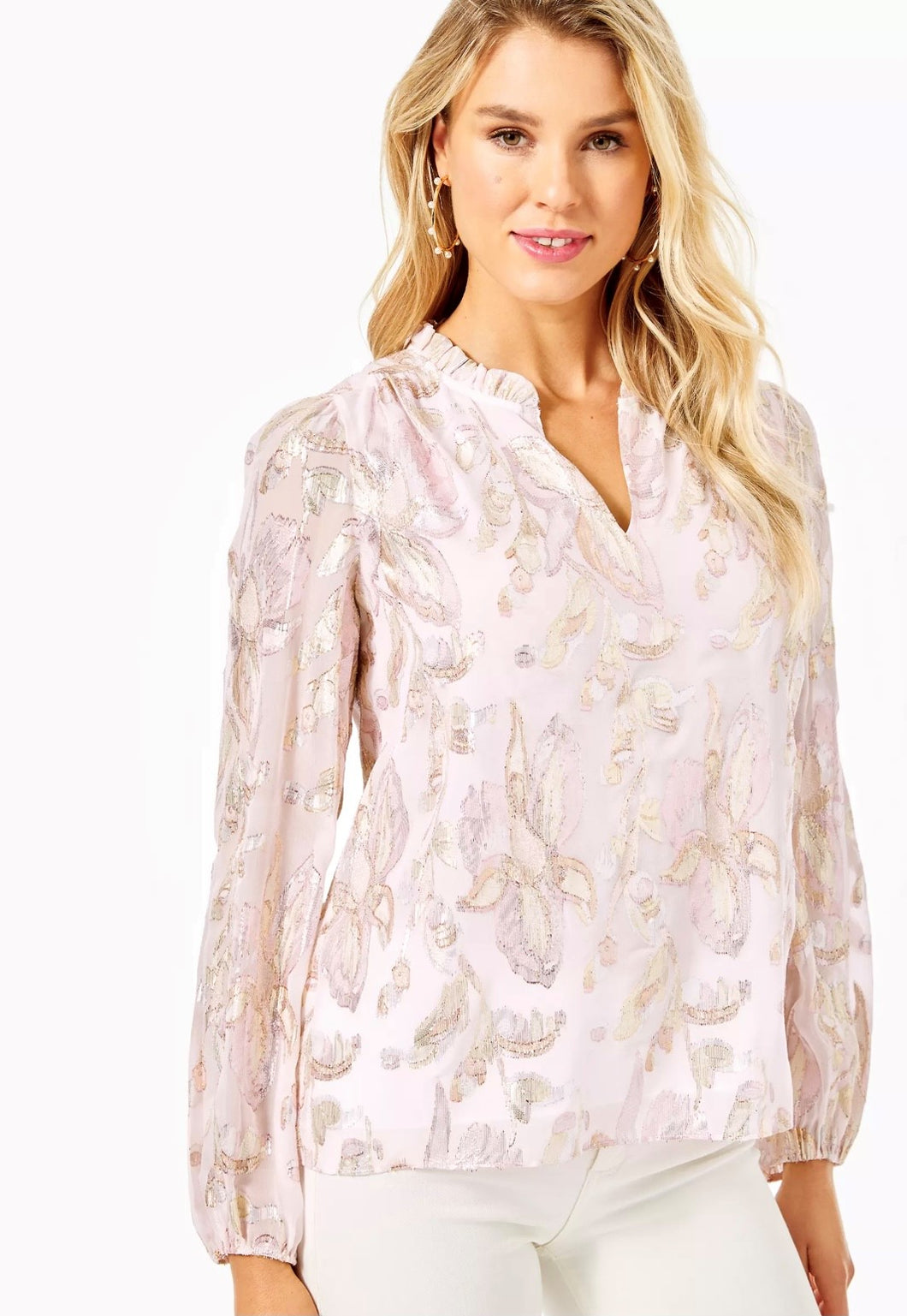 GIANA SILK TOP